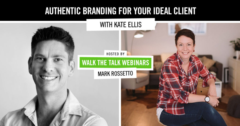 Authentic branding for your ideal client with Kate Ellis